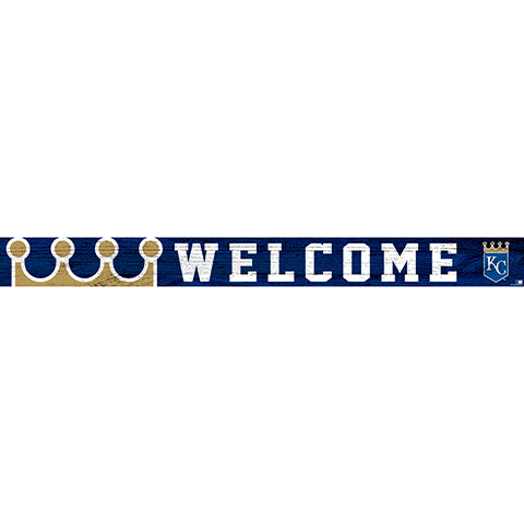 Kansas City Royals 16in. Welcome Strip