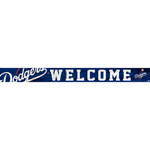 Los Angeles Dodgers 16in. Welcome Strip