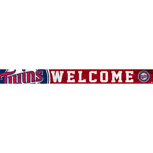 Minnesota Twins 16in. Welcome Strip
