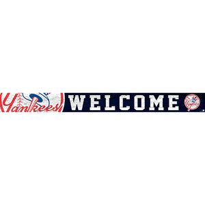 New York Yankees 16in. Welcome Strip