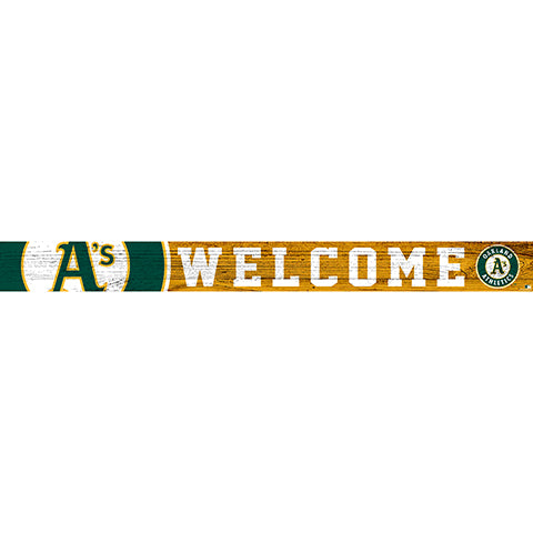 Oakland Athletics 16in. Welcome Strip