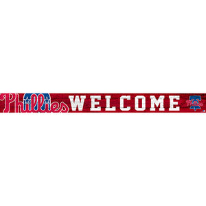 Philadelphia Phillies 16in. Welcome Strip