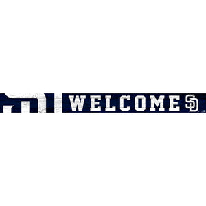 San Diego Padres 16in. Welcome Strip