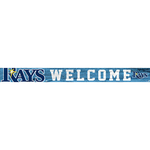 Tampa Bay Rays 16in. Welcome Strip