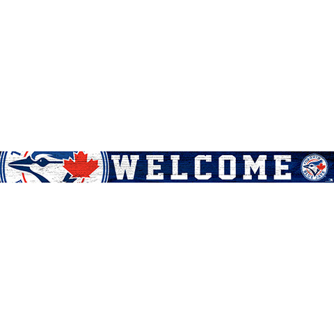 Toronto Blue Jays 16in. Welcome Strip