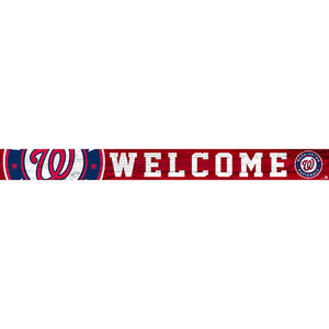Washington Nationals 16in. Welcome Strip