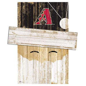 Arizona Diamondbacks Santa Head