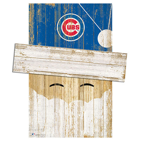Chicago Cubs Santa Head