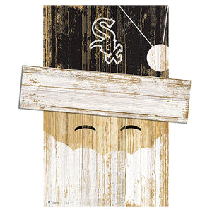 Chicago White Sox Santa Head