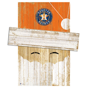 Houston Astros Santa Head
