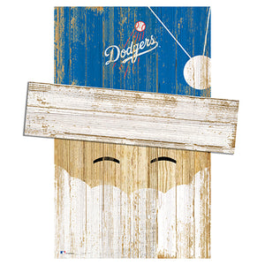 Los Angeles Dodgers Santa Head