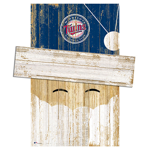 Minnesota Twins Santa Head