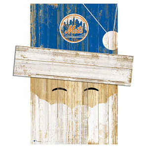 New York Mets Santa Head