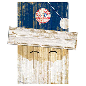 New York Yankees Santa Head