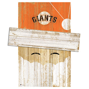 San Francisco Giants Santa Head