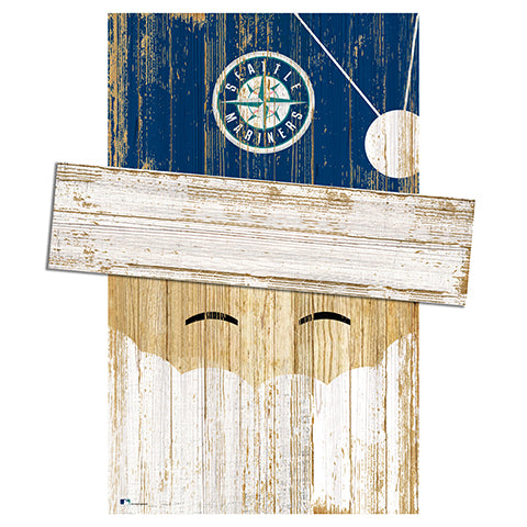 Seattle Mariners Santa Head