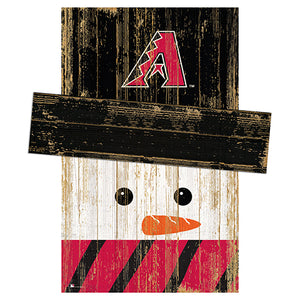 Arizona Diamondbacks Snowman Head