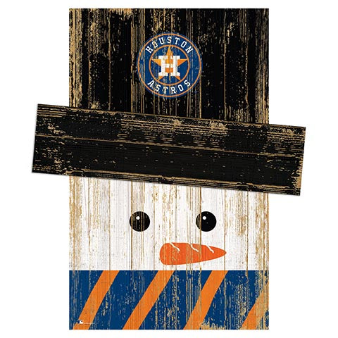 Houston Astros Snowman Head