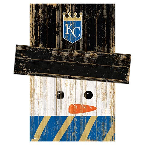 Kansas City Royals Snowman Head