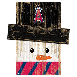 Los Angeles Angels Snowman Head