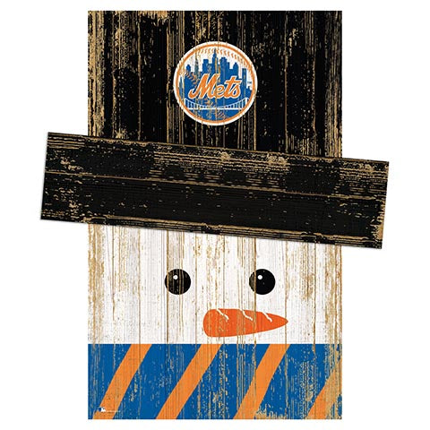 New York Mets Snowman Head