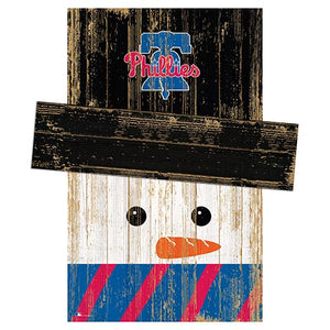 Philadelphia Phillies Snowman Head