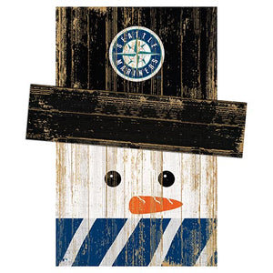 Seattle Mariners Snowman Head