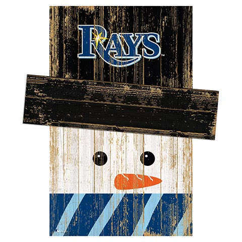 Tampa Bay Rays Snowman Head
