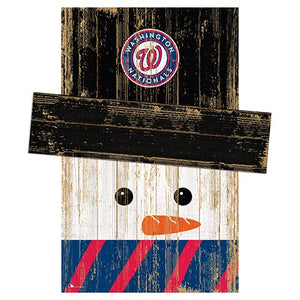 Washington Nationals Snowman Head