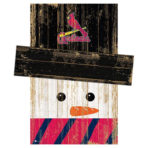 Saint (St.) Louis Cardinals Snowman Head