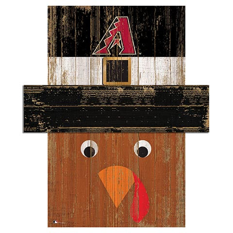 Arizona Diamondbacks Turkey Head