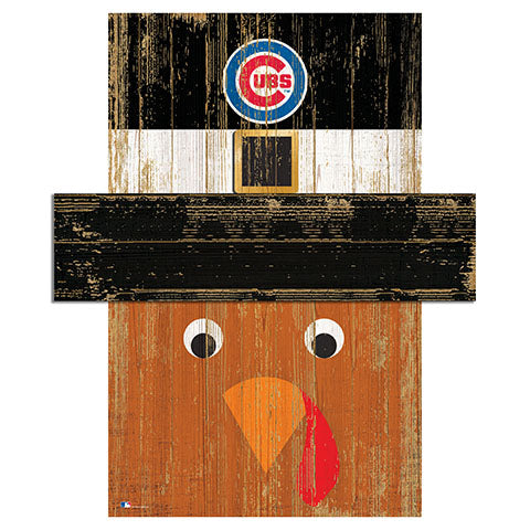 Chicago Cubs Turkey Head