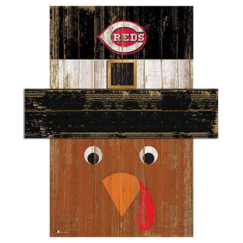 Cincinnati Reds Turkey Head