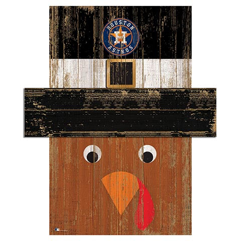 Houston Astros Turkey Head