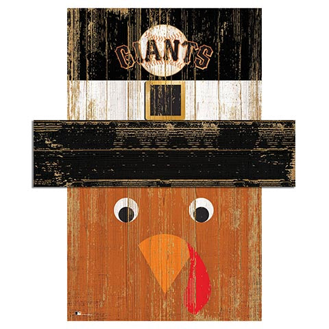 San Francisco Giants Turkey Head