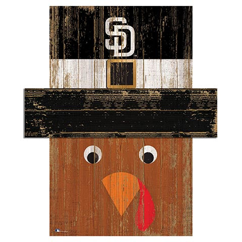 San Diego Padres Turkey Head