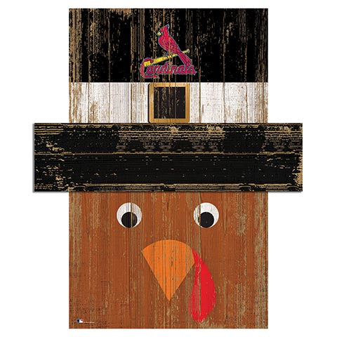 Saint (St.) Louis Cardinals Turkey Head