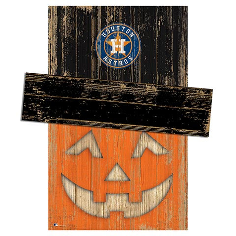 Houston Astros Pumpkin Head w/Hat