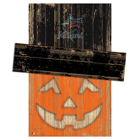 Miami Marlins Pumpkin Head w/Hat