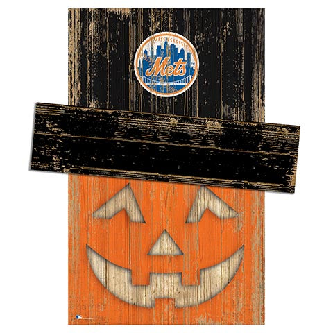 New York Mets Pumpkin Head w/Hat