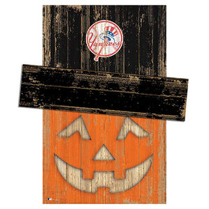 New York Yankees Pumpkin Head w/Hat