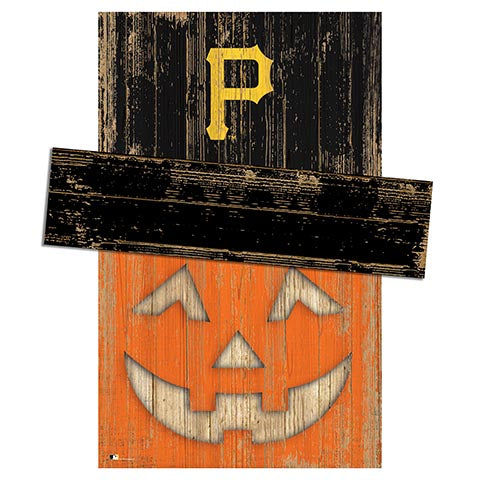 Pittsburgh Pirates Pumpkin Head w/Hat