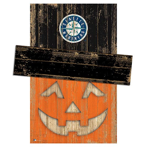 Seattle Mariners Pumpkin Head w/Hat