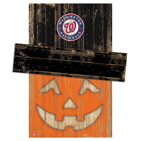 Washington Nationals Pumpkin Head w/Hat