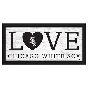 Chicago White Sox Love 6x12 Sign
