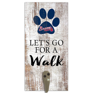 Atlanta Braves Leash Holder 6x12 Sign