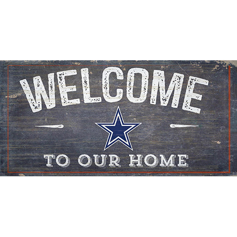 Dallas Cowboys Welcome Distressed
