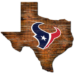 Houston Texans Distressed State with Logo