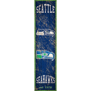 Seattle Seahawks Heritage Banner Vertical 6x24