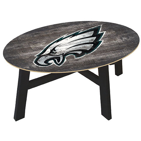 Philadelphia Eagles Distressed Wood Coffee Table